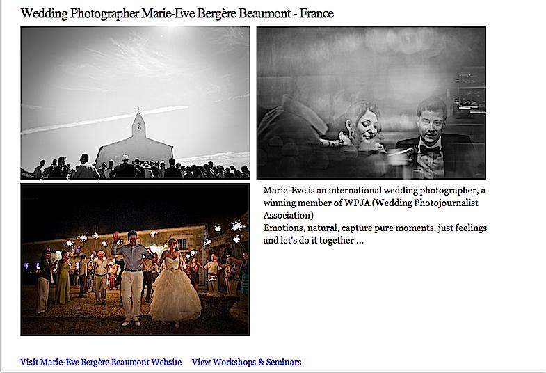Marie-Eve Bergère Beaumont Photographe